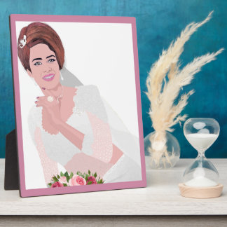 HAPPY BRIDE PLAQUE
