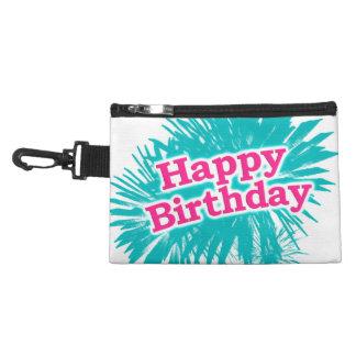 Happy Brithday Typographic Design Accessory Bag