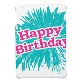 Happy Brithday Typographic Design Cover For The iPad Mini