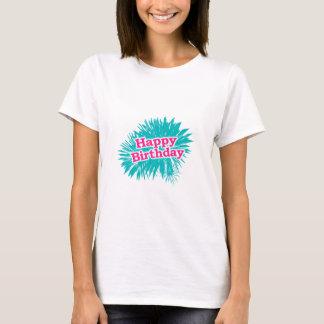 Happy Brithday Typographic Design T-Shirt