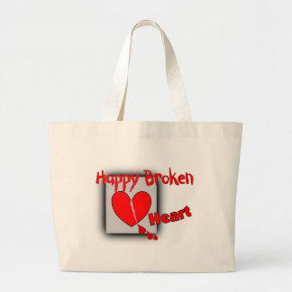 """Happy Broken Heart""--Funny Valentine Gifts Bag"