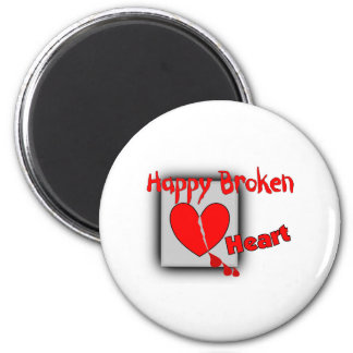 Happy Broken Heart --Funny Valentine Gifts Magnets