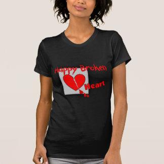 """Happy Broken Heart""--Funny Valentine Gifts Tshirt"