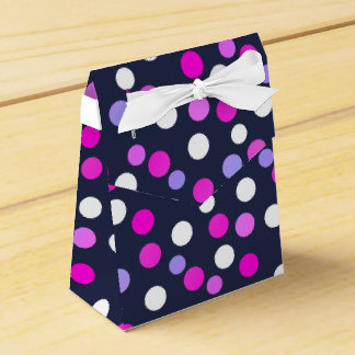 Happy Bubbles Balls Funky Print Favor Gift Box