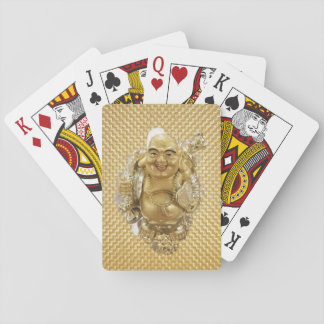 Happy Buddha Hands Playing Cards