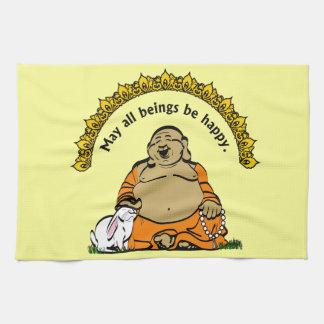 HAPPY BUDDHA KITCHEN TOWEL