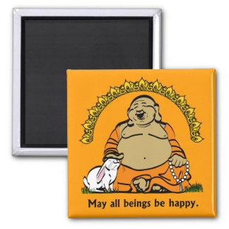 HAPPY BUDDHA MAGNET