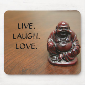 Happy Buddha Mouse Pad
