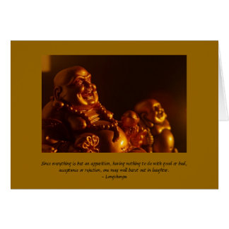 Happy Buddha Note Card