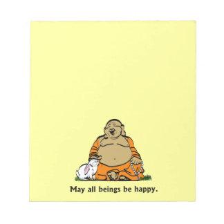 HAPPY BUDDHA NOTEPADS