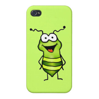Happy Bug iPhone 4/4S Cover