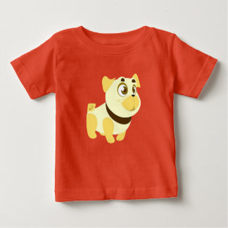 Happy Bulldog Baby T-Shirt