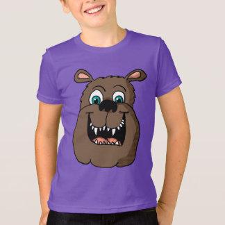 Happy Bulldog Head Shirt