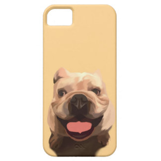Happy Bulldog iPhone 5 Covers