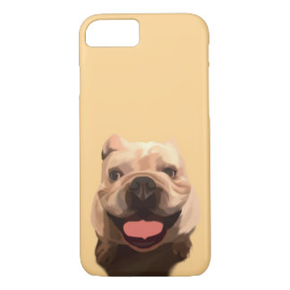 Happy Bulldog iPhone 8/7 Case