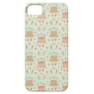 Happy Bunnies in Orange iPhone 5 Case
