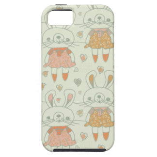 Happy Bunnies in Orange iPhone 5 Covers