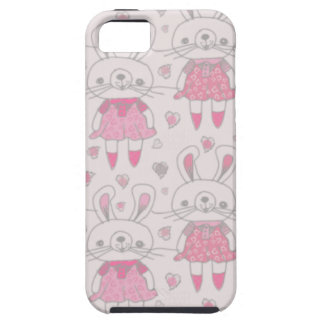 Happy Bunnies in Pink iPhone 5 Covers