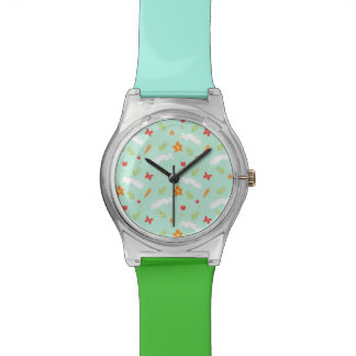 Happy Bunny Cute Cartoon Wristwatch