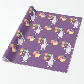Happy Bunny Wrapping Paper