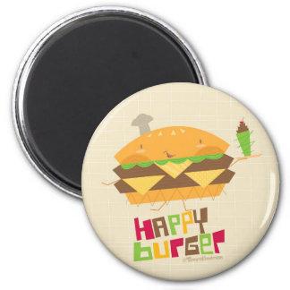 Happy Burger Magnet
