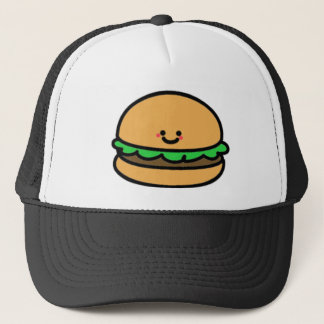 Happy Burger Trucker Hat