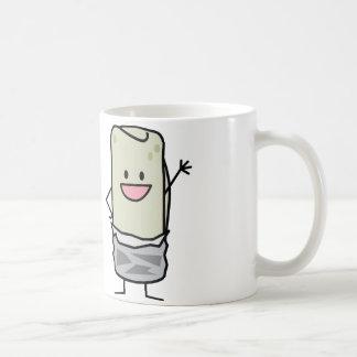 Happy Burrito Waving Hello Coffee Mug