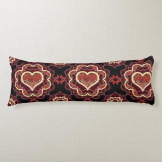 Happy Butterfly Mandala Body Pillow
