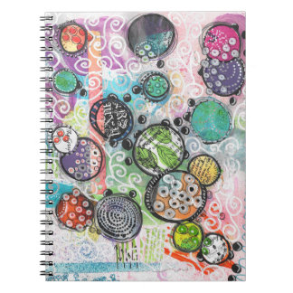 Happy C Spiral Notebook