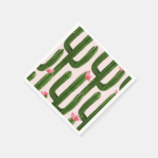 Happy Cacti napkin Paper Napkins