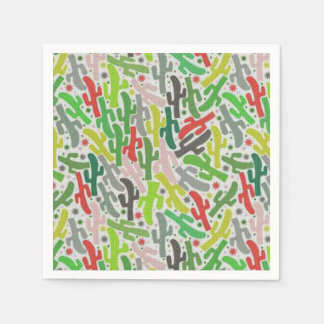 Happy Cactus HHM Party Paper Napkins
