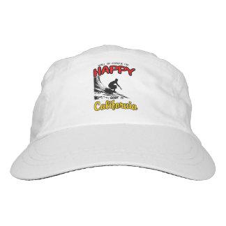 HAPPY CALIFORNIA SURFER 2 Black Hat