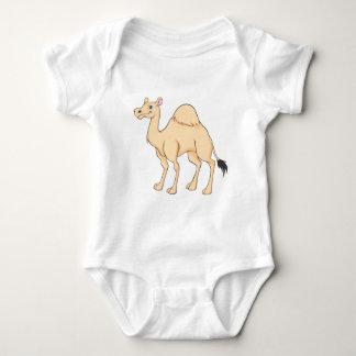 Happy Camel Cartoon Baby Bodysuit