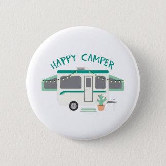 Happy Camper 2 Inch Round Button