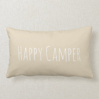 Happy Camper Accent Pillow