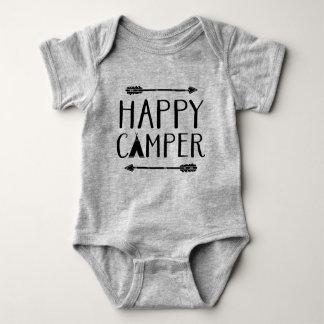 Happy Camper Baby Bodysuit
