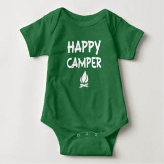 Happy Camper baby shirt