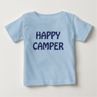 Happy Camper Backpack Infant Blue T-shirt