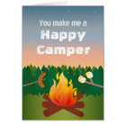 Happy Camper Birthday Card