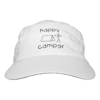 Happy Camper (blk) Headsweats Hat