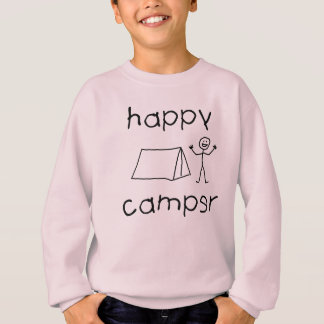 Happy Camper (blk) Sweatshirt