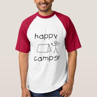Happy Camper (blk) T-shirt
