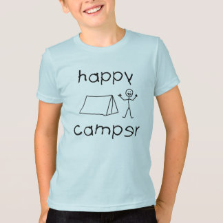 Happy Camper (blk) T-Shirt