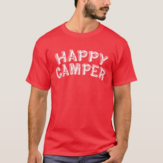 Happy Camper Camp Shirt Gift