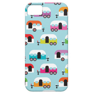 Happy camper caravan hippie retro pattern iPhone 5 covers