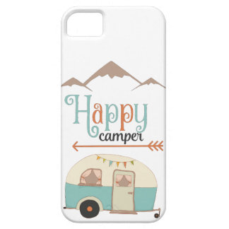 HAPPY CAMPER CASE FOR THE iPhone 5