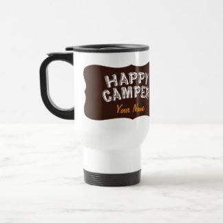 Happy Camper Eat Sleep Camp Travel Mug
