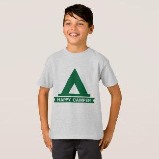 Happy Camper green tent T-Shirt
