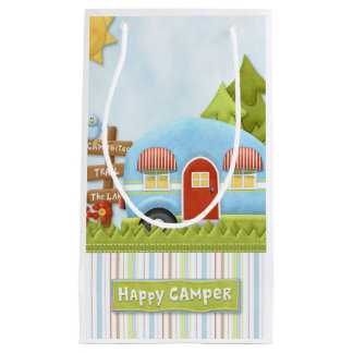 Happy Camper - Happy Trails to You Gift Bag Small Gift Bag