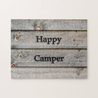 Happy Camper Jigsaw Puzzle